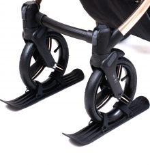 Narty do wózka dziecięcego  Zestaw dla kół 22-35cm