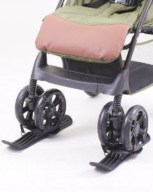 Narty do wózków z kołami podwójnymi